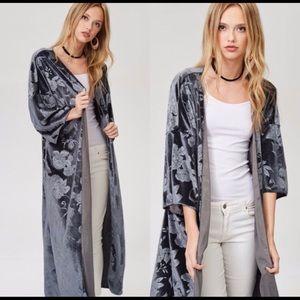 Other - Velvet Coverup Kimono